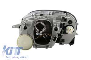 KITT brings you the new headlights M. Benz SLK 96-04 _ 2 halo rims _ black