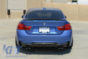 KITT brings you the new Rear Bumper BMW 4 Series F32 F33 F36 (2013-up) M-Performance Design Coupe Cabrio Grand Coupe