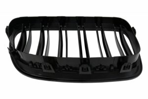 KITT brings you the new Front Bumper Spoiler Lip BMW 5 Series F10 F11 Sedan Touring (2011-2017) M-Performance Design With Double Stripe Piano Black Kidney Grille