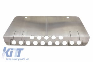 KITT brings you the new Front Bumper Aluminum Skid Plate Off Road Package Under Run Protection Mercedes Benz G-Class W463 (1989-2017) 4×4 Design