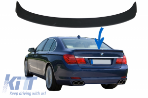 KITT brings you the new Trunk Spoiler Boot Lid Spoiler Suitable for BMW 7 Series F01/F02 (2008-2015) Alpina Design