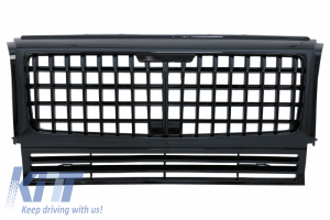KITT brings you the new Front Grille suitable for Mercedes W463 G-Class (1990-2018) New MAYBACH-GT-R Panamericana Design Piano Black