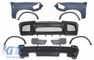 KITT brings you the new Complete Body Kit with Front Fenders suitable for BMW X5 E70 (2007-2013) X5M M-Design