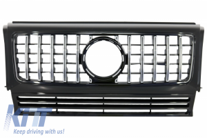 KITT brings you the new Front Grille suitable for MERCEDES W463 G-Class (1990-2014) New G63 GT-R Panamericana Design