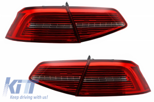 KITT brings you the new LED Taillights suitable for VW Passat B8 3G (2015-) Limousine Matrix R line with Sequential Dynamic Turning Lights