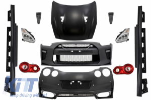 KITT brings you the new Complete Body Kit suitable for Nissan GT-R (2008-2017) Facelift 2017 Design