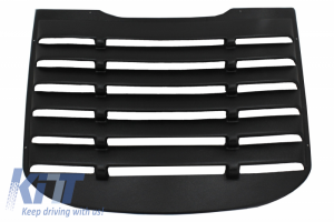 KITT brings you the new Rear Window Louvers suitable for Ford Mustang Mk6 VI Sixth Generation (2015-2019) Cover Sun Shade