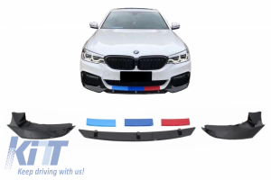 KITT brings you the new Front Bumper Spoiler suitable for BMW 5 Series G30 G31 Limousine/Touring (2017-up) M5 Design Piano Black
