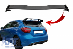 KITT brings you the new Roof Boot Lid Spoiler suitable for MERCEDES A-Class W176 (2012-2018) A45 Design Piano Black