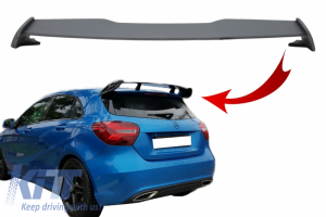 KITT brings you the new Roof Boot Lid Spoiler suitable for MERCEDES A-Class W176 (2012-2018) A45 Design Primer
