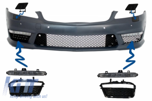 KITT brings you the new Front Bumper Parts suitable for Mercedes W221 S-Class (2005-2012) S63 S65 A-Design