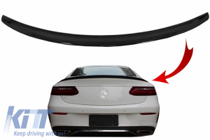 KITT brings you the new Trunk Boot Spoiler suitable for Mercedes E-Class C238 Coupe (2016-up) Piano Black
