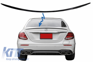 KITT brings you the new Trunk Spoiler suitable for Mercedes E-Class W213 (2016-up) Piano Black