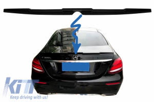 KITT brings you the new Trunk Spoiler suitable for MERCEDES Benz E-Class W213 (2016-up) B-Design Matte Black