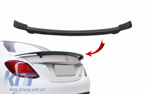 KITT brings you the new Trunk Spoiler suitable for MERCEDES C-Class W205 (2014-2018) GTS-Design Piano Black