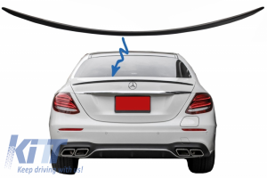 KITT brings you the new Trunk Spoiler suitable for Meredes E-Class W213 (2016-up) Matte Black