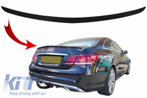 KITT brings you the new Trunk spoiler suitable for MERCEDES-Benz E-Class W212 (2009-2016) Piano Black