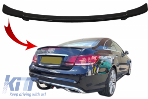 KITT brings you the new Trunk spoiler suitable for MERCEDES-Benz E-Class W212 (2009-2016) GTS Design Piano Black