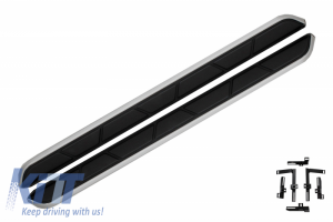 KITT brings you the new Running Boards Side Steps suitable for VW T-ROC SUV 5 Door (2017-Up)