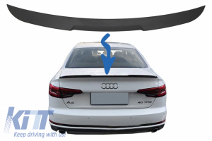 KITT brings you the new Trunk Spoiler suitable for AUDI A4 B9 Sedan (2016-up)