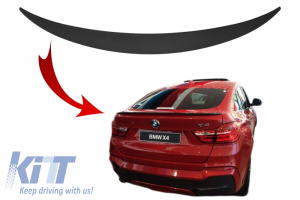 KITT brings you the new Trunk Spoiler suitable for BMW X4 F26 (2014-2018)