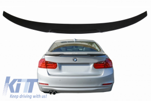 KITT brings you the new Trunk Boot Lid Spoiler suitable for BMW 3 Series F30 (2011-2019) M4 CSL Design Piano Black