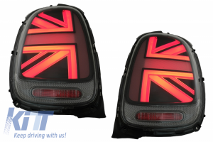 KITT brings you the new Taillights suitable for MINI ONE F55 F56 F57 3D 5D Convertible (2014-2018) JCW Design Red Smoke