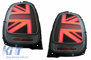 KITT brings you the new Taillights suitable for MINI ONE F55 F56 F57 3D 5D Convertible (2014-2018) JCW Design Silver