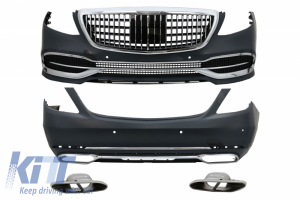 KITT brings you the new Convesion Body Kit suitable for Mercedes S-Class W222 Facelift (2013-Up) M-Design