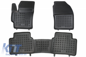 KITT brings you the new Black Floor Mats Rubber suitable for Toyota COROLLA XII E210 (2018-up) Sedan Station Wagon