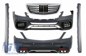 KITT brings you the new Complete Body Kit suitable for MERCEDES S-Class W222 Facelift (2013-06.2017) S63 Design