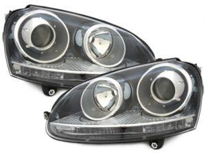 KITT brings you the new headlights VW Golf V 03-07_GTI Look_black