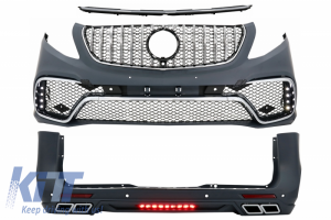 KITT brings you the new Complete Body Kit suitable for MERCEDES V-Class W447 (2014-Up) A-Design