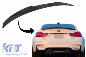KITT brings you the new Trunk Spoiler suitable for BMW 4 Series Gran Coupe F36 (2014-up) M4 CSL Design Piano Black