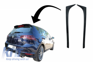 KITT brings you the new Trunk Rear Window Fin Spoiler suitable for VW Golf 7 & 7.5 (2012-2020) GTI Design Piano Black