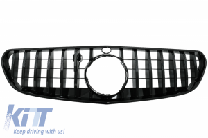 KITT brings you the new Central Grille suitable for Mercedes S-CLASS Coupe C217 (2014-2017) Cabrio A217 (2015-2017) GT-R Panamericana Design Black