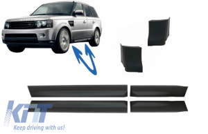 KITT brings you the new Set Lower Door Moldings suitable for Land Rover Sport L320 (2005-2013) with Wing Lower Moldings