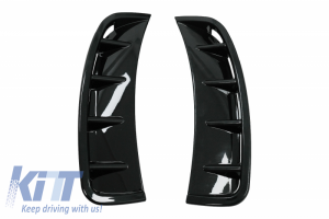 KITT brings you the new Side Vents Front Bumper Suitable for MERCEDES A Class W177 Hatchback (04.2018-up) V177 Sedan (04.2018-up) Piano Black