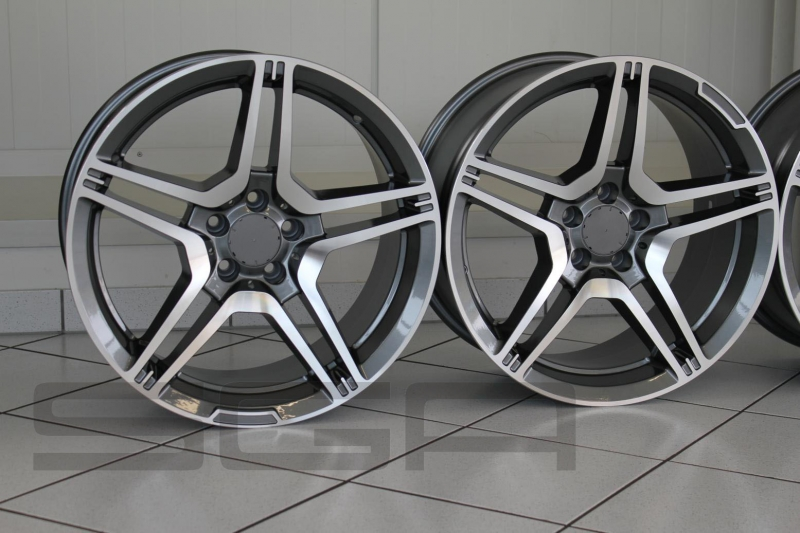 alloy wheels mercedes benz amg design 19