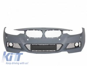 KITT brings you the new Front Bumper BMW 3er F30 (2011-up) M-Technik W/Out Fog Lights