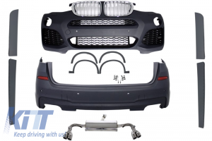 KITT brings you the new Complete Body Kit BMW X3 F25 2014-up M-Design