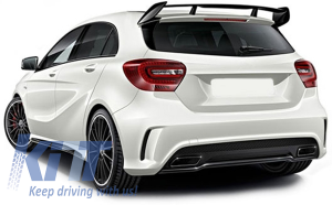 KITT brings you the new Body Kit Mercedes A-Class W176 (2012-up) A45 AMG Aero Edition 1 Sport Line Design inkl. Splitters
