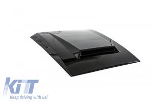 KITT brings you the new Hood Scoop Bonnet Scoop Mercedes Benz W463 G-Class (1989-up) B-Design Black Painted C 197 Obsidian Black