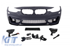 KITT brings you the new Front Bumper BMW 3er F30 (2011-up) M3 Design With Fog Lamps
