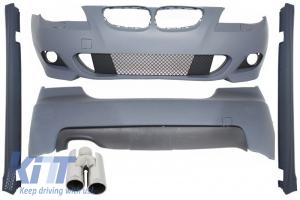 KITT brings you the new Body Kit BMW E60 (5-series) (2003-2010) M-Technik Design with ACS-look Exhaust Muffler