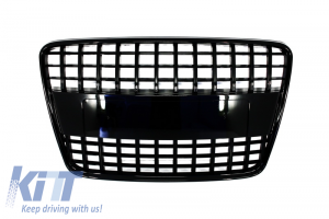 KITT brings you the new Badgeless Front Grille Audi Q7 4L (2006-2015) S-Line Piano Black