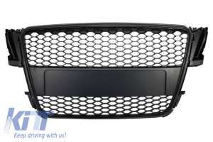 KITT brings you the new Badgeless Front Grille Audi A5 8T (2007-2011) RS Design Matte Black