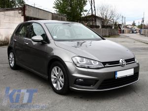 KITT brings you the new Front Bumper Volkswagen VW Golf VII 7 2013-up Rline Look