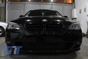 KITT brings you the new Front Bumper BMW 5 Series E60/E61 (2003-2010) M-Technik Design Without Fog lights