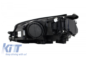 KITT brings you the new Headlights 3D LED DRL RHD Volkswagen Golf 7 VII (2012-2017) RED R20 GTI Look LED FLOWING Turn Light RHD
